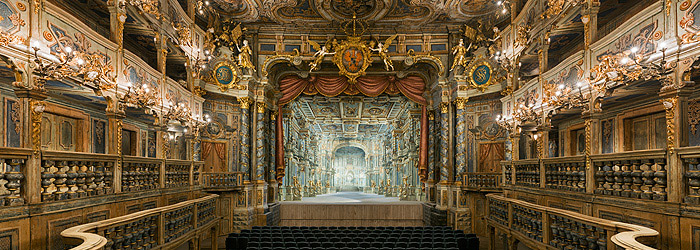 Picture: Margravial Opera House, view towards the stage