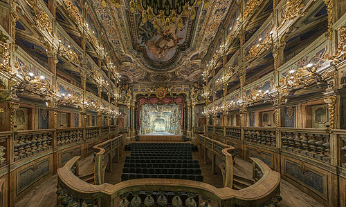 Picture: Margravial Opera House after the restoration, view of the stage