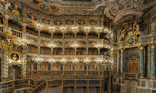 Picture: Margravial Opera House after the restoration, detail